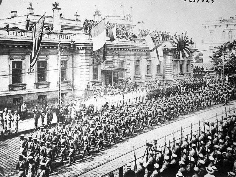 Μεγάλη Οκτωβριανή Επανάσταση - Αντεπανάσταση - ιμπεριαλιστική επέμβαση,1918 - Βλαδιβοστόκ