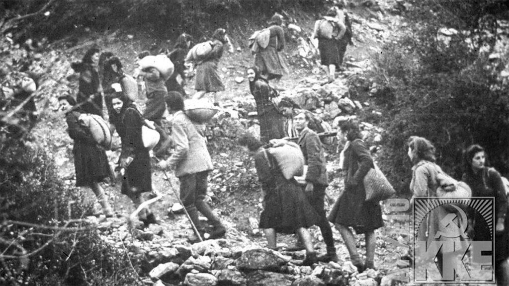 ΔΣΕ - Καρδίτσα - τάγμα του Σοφιανού - έξοδος, 1947
