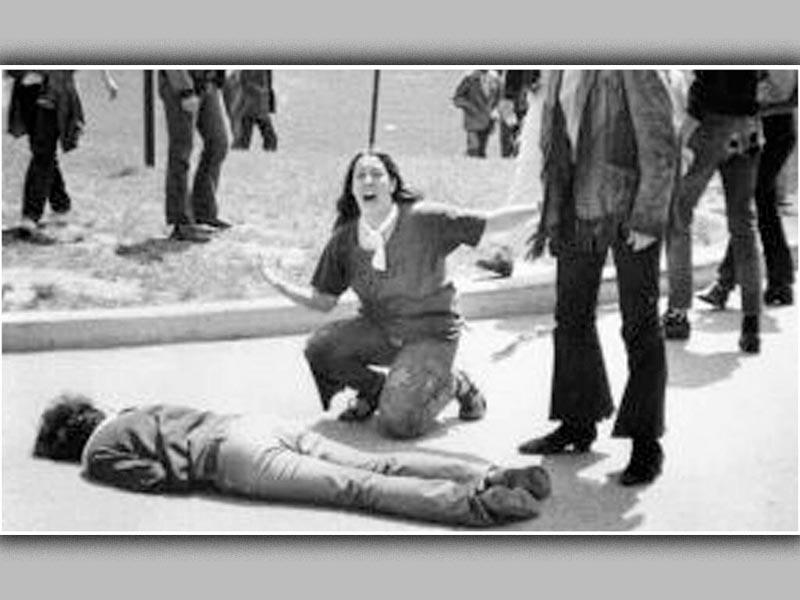 Πόλεμος του Βιετνάμ - Αντιπολεμικές διαδηλώσεις - δολοφονίες φοιτητών στο Οχάιο, 1970