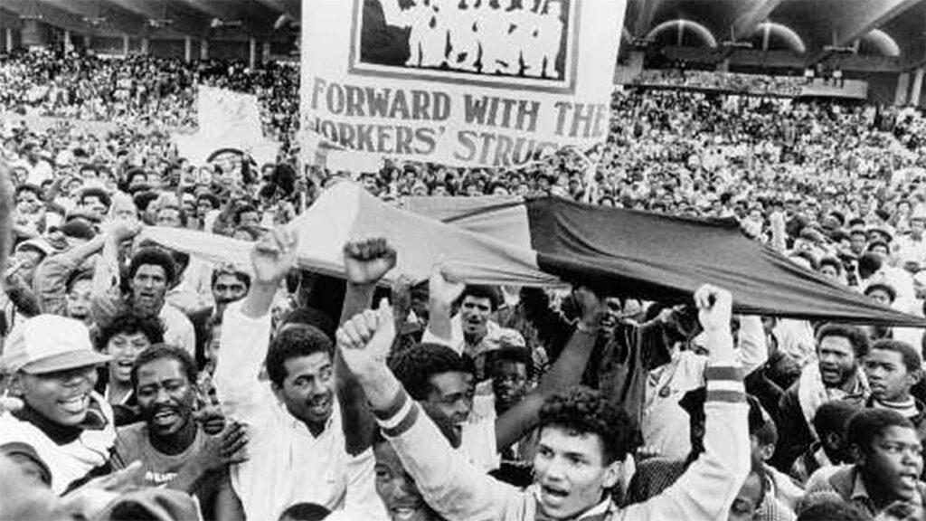 Νότια Αφρική - Πρωτομαγιά, 1986