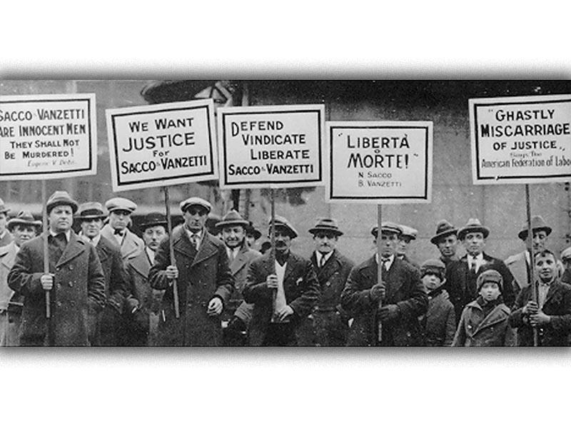 ΗΠΑ - Εργατικό κίνημα - καταστολή - Νίκολα Σάκο - Μπαρτολομέο Βαντσέτι