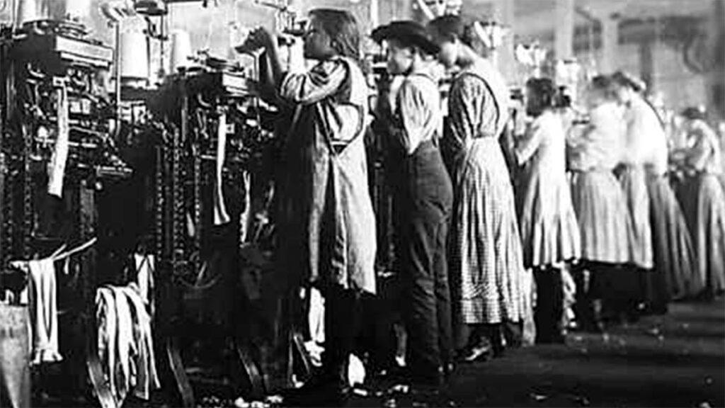 Εργασία - Εκμετάλλευση γυναικών και παιδιών