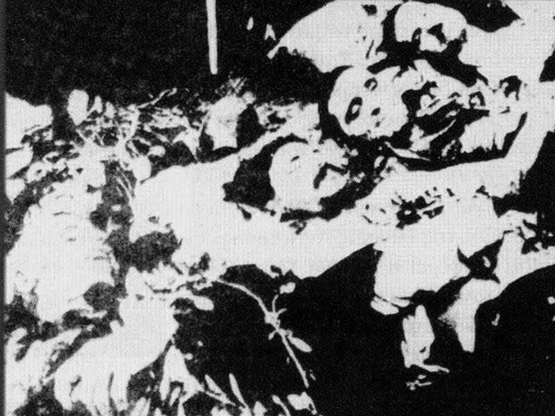 Ελλάδα - Πρωτομαγιά, 1944 - Καισαριανή - 200 εκτελεσμένοι κομμουνιστές