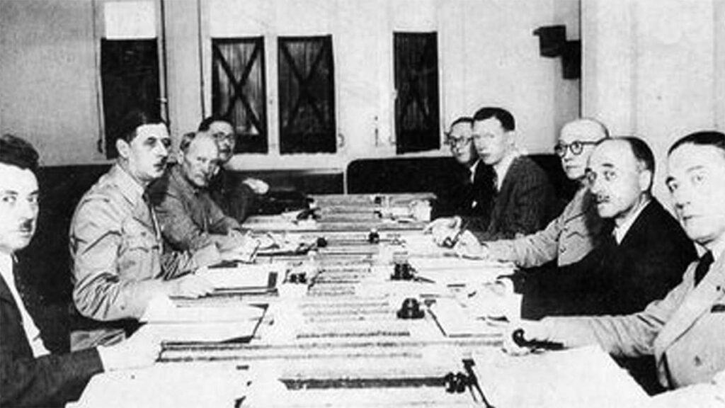 Β'ΠΠ - Γαλλία - ΚΚ Γαλλίας - Σαρλ Ντε Γκωλ - Γαλλική Επιτροπή Εθνικής Απελευθέρωσης, 1944