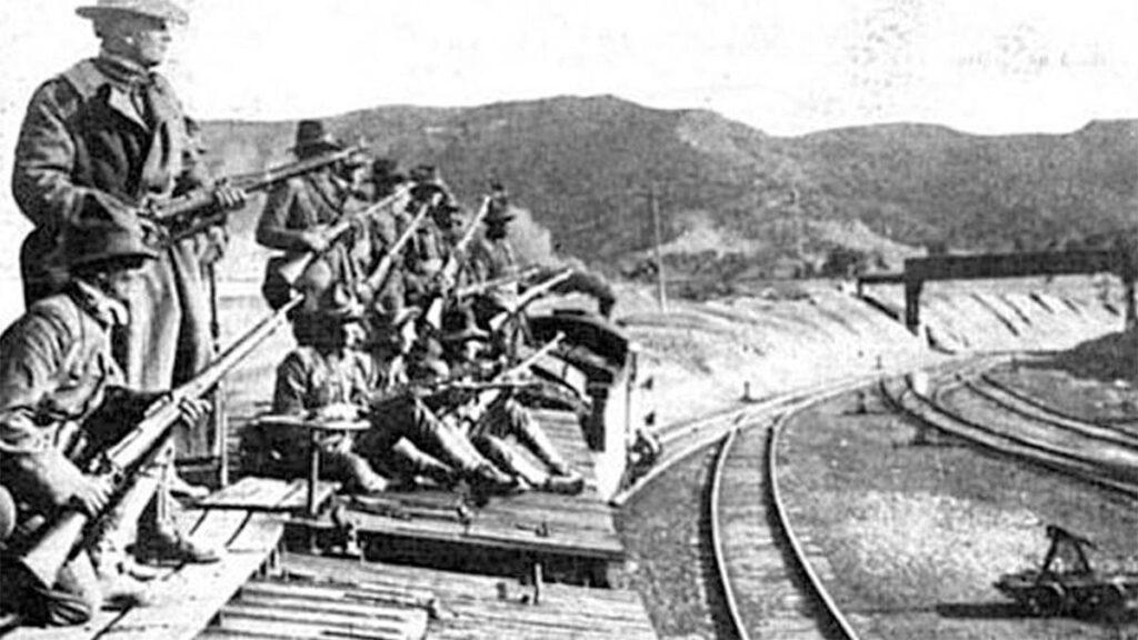 ΗΠΑ - Εργατικό κίνημα - Ανθρακωρύχοι - Απεργία - Σφαγή του Λάντλοου, 1914