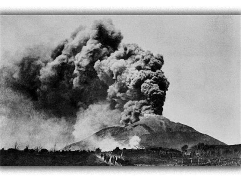 Ηφαίστεια - Βεζούβιος - Έκρηξη, 1906