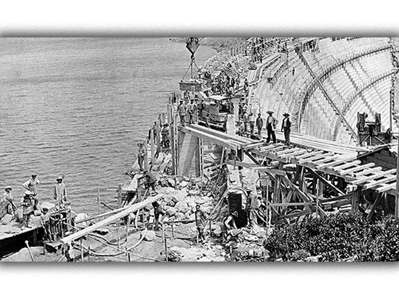 Ελλάδα - Ύδρευση - ΟΥΛΕΝ - φράγμα του Μαραθώνα