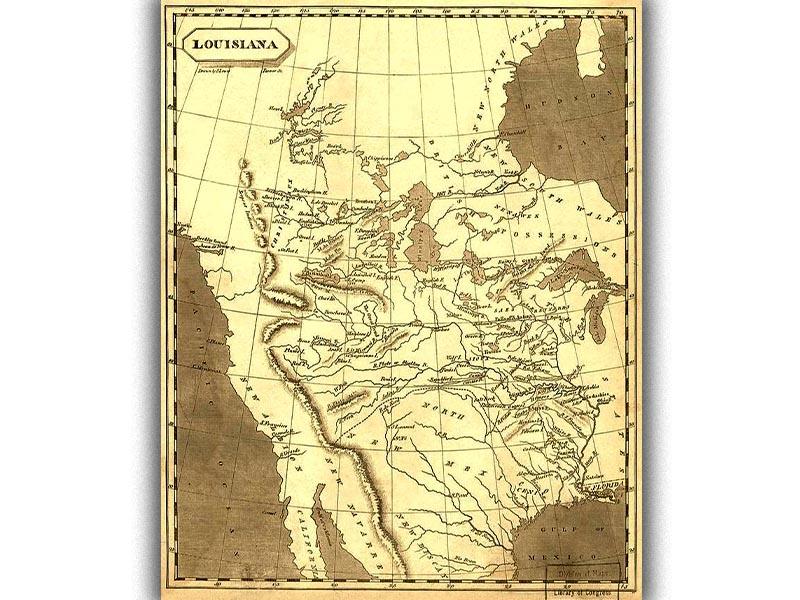 ΗΠΑ - Γαλλία - Λουιζιάνα - αγορά, 1803
