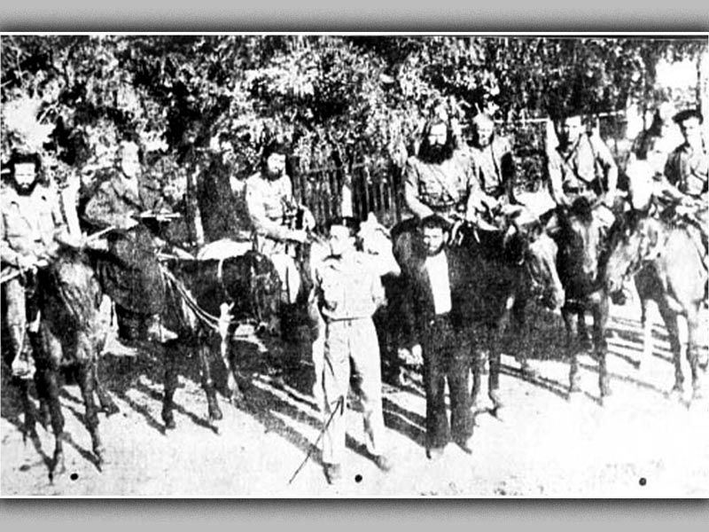 Ελλάδα - μετακατοχική Ελλάδα, 1945 - συμμορία του Σούρλα - Άγγλοι