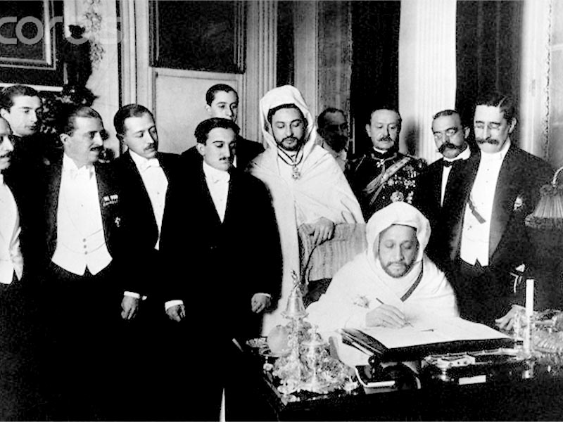 Μαρόκο - Γαλλία - Ισπανία - Διεθνής Συνθήκη της Αλχεθίρας, 1906