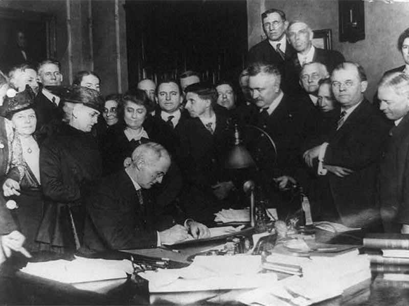 ΗΠΑ - Απόφαση τέλους της Ποτοαπαγόρευσης, 1933