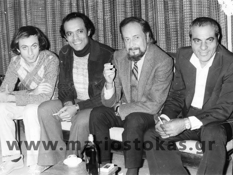 Πολιτισμός - Μουσική - Μάριος Τόκας - Γιάννης Ρίτσος - Στέλιος Καζαντζιδης - Λάκης Χαλκιάς