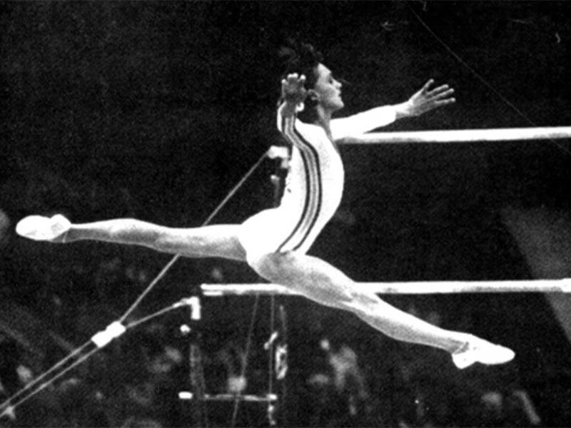 Αθλητισμός - Ενόργανη γυμναστική - Νάντια Κομανέντσι