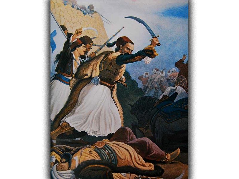 Πολιτισμός - Ζωγραφική - Πέτερ φον Χες - Ελληνική Επανάσταση