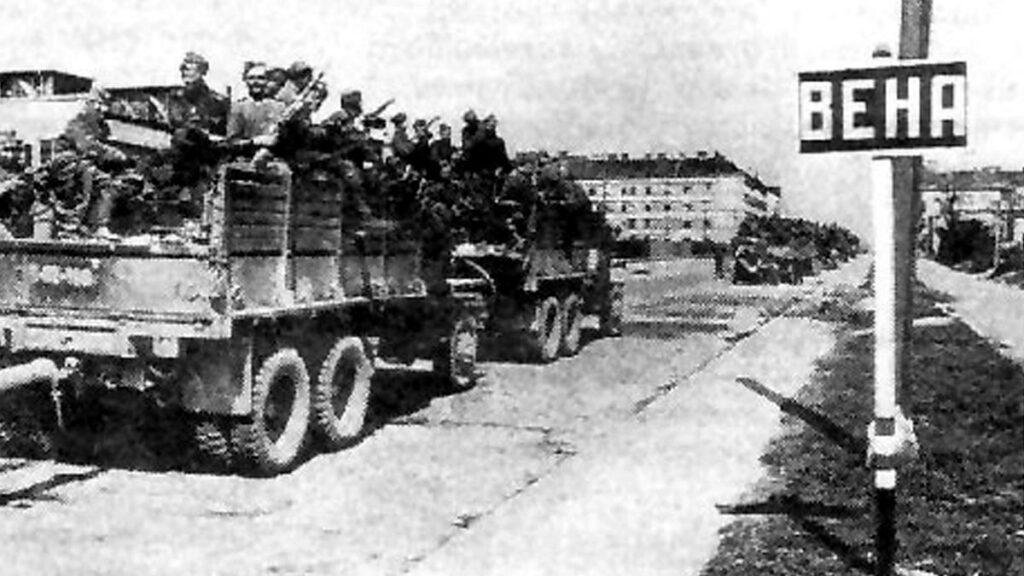 Β'ΠΠ - Κόκκινος Στρατός - Απελευθέρωση της Βιέννης, 1945