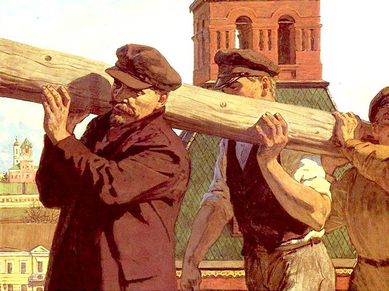 Σοβιετική Ρωσία - Λένιν - Κομμουνιστικά Σάββατα