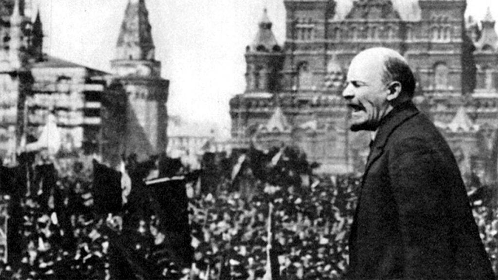 Μεγάλη Οκτωβριανή Επανάσταση - Λένιν