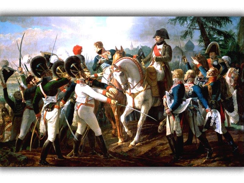 Γαλλία - Αυστρία - Ναπολέων - Μάχη του Άμπενσμπεργκ, 1809