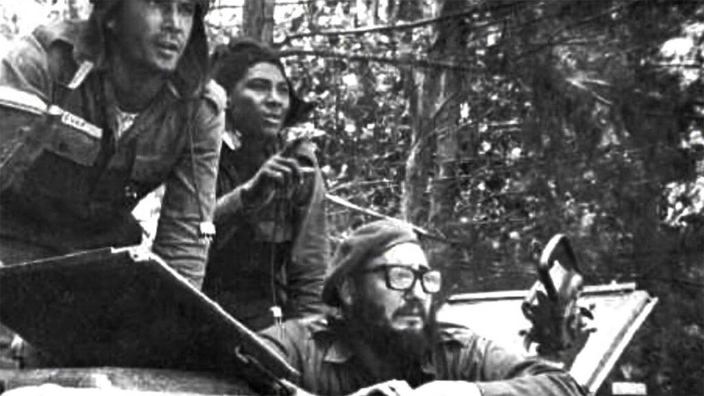 Κούβα - ΗΠΑ - μάχη στον Κόλπο των Χοίρων, 1961 - Φιντέλ Κάστρο