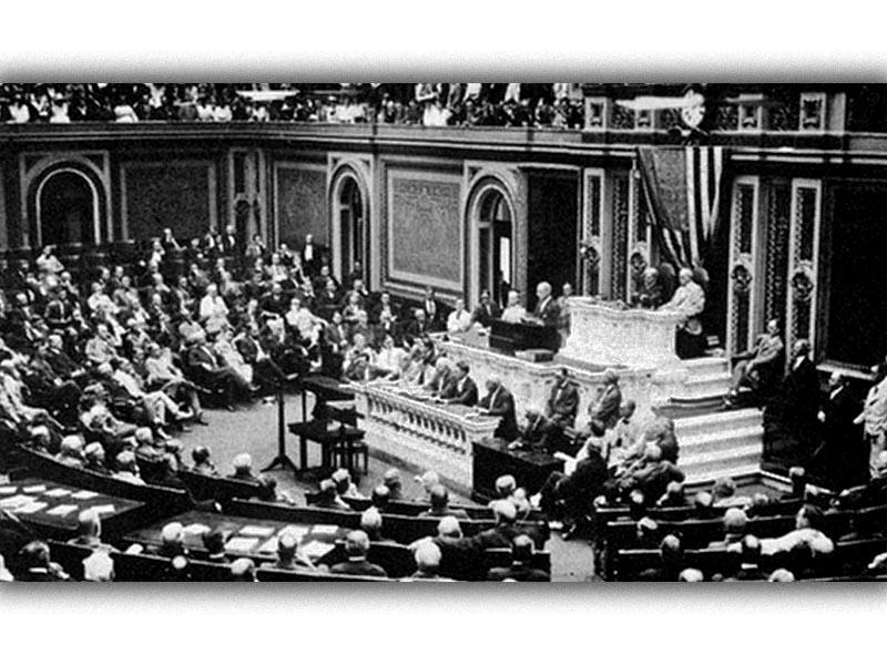 Α'ΠΠ - ΗΠΑ - Κήρυξη πολέμου στη Γερμανία