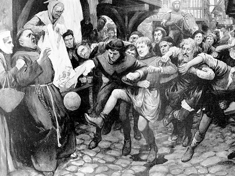 Αθλητισμός - Ποδόσφαιρο - Πρώιμη μορφή - Λονδίνο