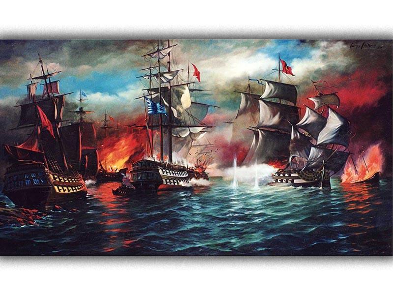 Ελληνική Επανάσταση 1821 - ναυμαχία της Μεθώνης, 1825