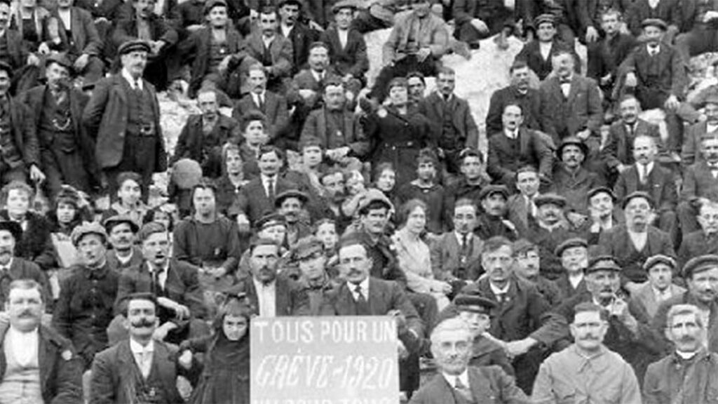 Γαλλία - Πρωτομαγιά, 1920 - Απεργία σιδηροδρομικών