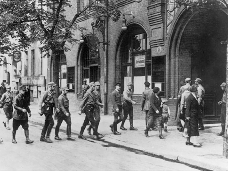 Ναζιστική Γερμανία - τάγματα εφόδου - συνδικάτα