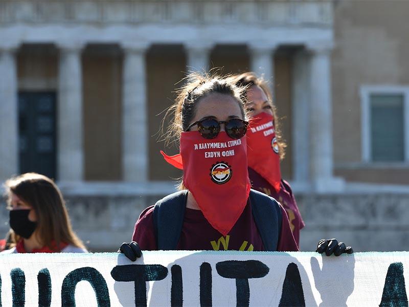 Αθήνα - Εργατική Πρωτομαγιά, 2020 - ΠΑΜΕ - ΚΚΕ