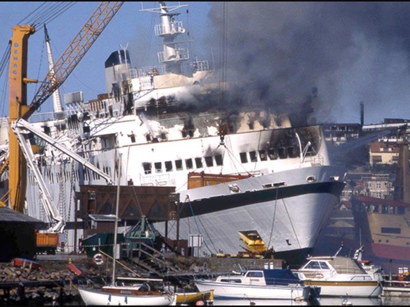 """Δανία - Ναυτική τραγωδία - Βόρεια Θάλασσα - """"Σκαντινάβιαν Σταρ"""""""