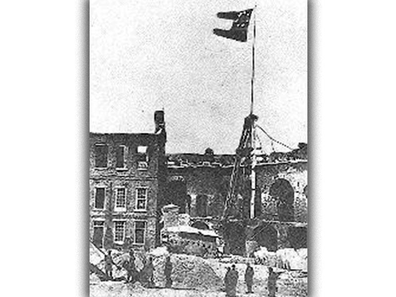 ΗΠΑ - Εμφύλιος - οχυρό Σάμτερ