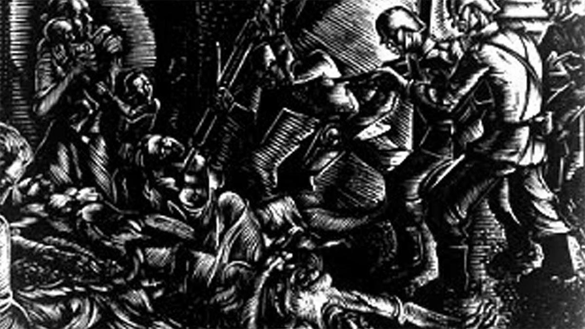 Β'ΠΠ - Ελλάδα - κατοχή - Σφαγή της Κλεισούρας, 1944