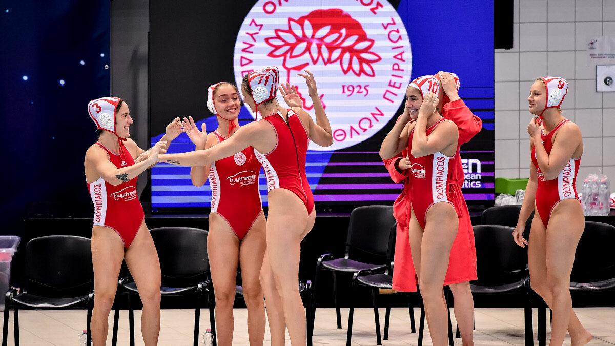 LEN WOMEN EUROLEAGUE 2020-2021 / FINAL-4 / ΟΣΦΠ - ΟΥΙΠΕΣΤ (ΦΩΤΟΓΡΑΦΙΑ: EUROKINISSI)