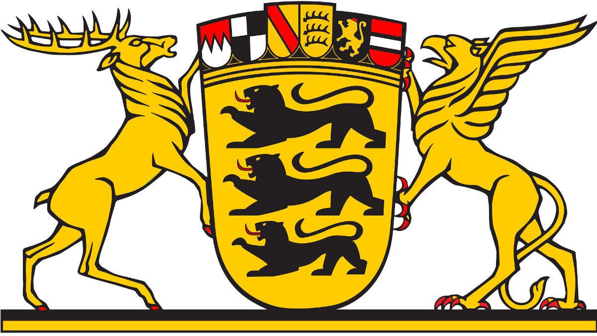 Έμβλημα του Ομοσπονδιακού Κρατιδίου της Βάδης - Βιρτεμβέργης - Νότια Γερμανία