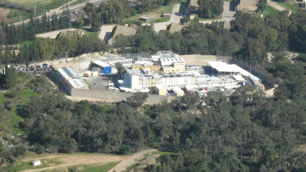 Ισραηλινή Φυλακή Τζαλάμ που βρίσκεται στο κατεδαφισμένο Παλαιστινιακό χωρίο Al-Jalama, στη Χάιφα