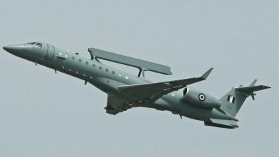 Ιπτάμενο Ραντάρ - Αεροσκάφος «EMB-145H» της 380 Μοίρας Αερομεταφερόμενου Συστήματος Έγκαιρης Προειδοποίησης & Ελέγχου