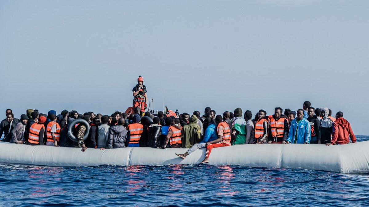 Διάσωση μεταναστών στη Μεσόγειο