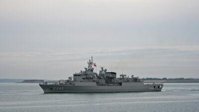 Φρεγάτα TCG Oruç Reis (F245) του Πολεμικού Ναυτικού της Τουρκίας