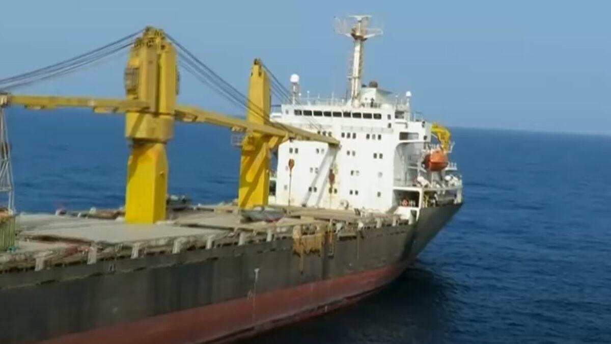 Φορτηγό πλοίο The Saviz με Ιρανική σημαία που κατηγορείται από το Ισραήλ για κατασκοπία - Απρίλιος 2021