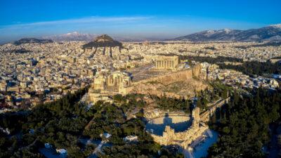 Αεροφωτογραφία - Ο λόφος της Ακρόπολης, Αθήνα