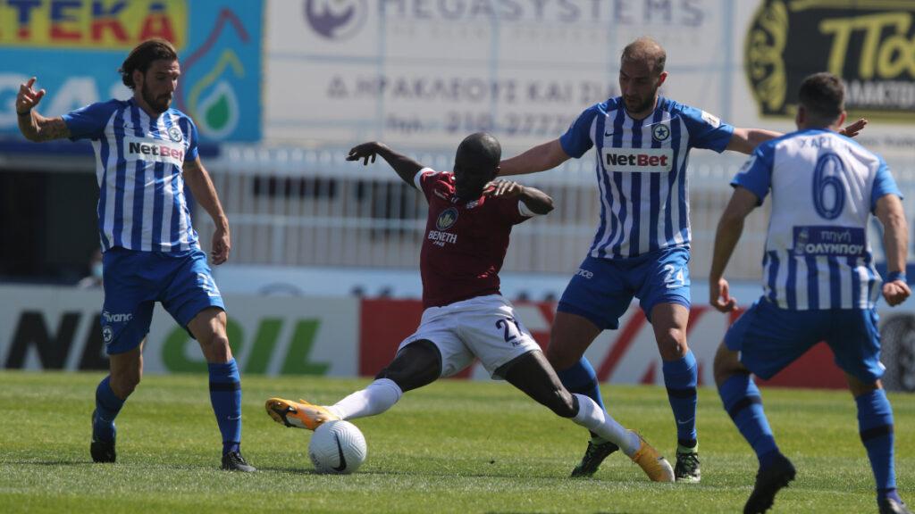 Super League - Play outs: Ατρόμητος - Απόλλων Νέας Σμύρνης