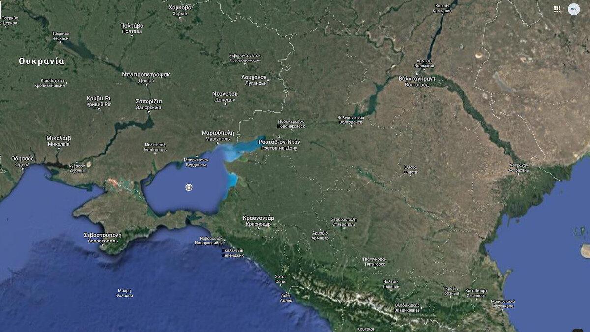 Χάρτης Θάλασσας Αζόφ, Ρωσία - Ουκρανία