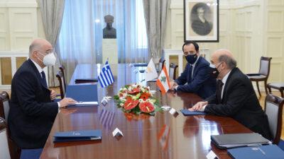 Από την τριμερή συνάντηση Ελλάδας -Κύπρου - Λιβάνου