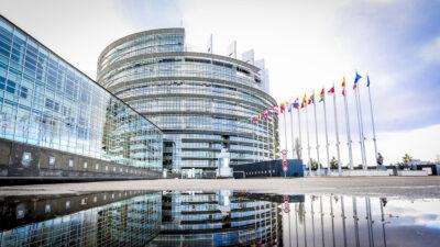 Το κτίριο του Ευρωκοινοβουλίου στο Στρασβούργο, Γαλλία