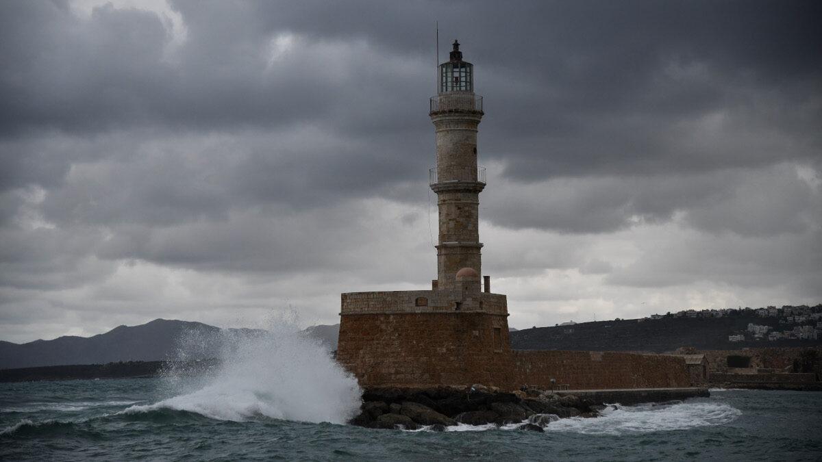 Φάρος, ενετικό λιμάνι Χανίων