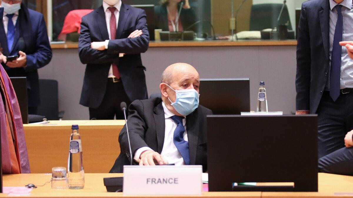 Ζαν Υβ Λε Ντριάν (Jean-Yves Le Drian), Υπουργός Εξωτερικών της Γαλλίας