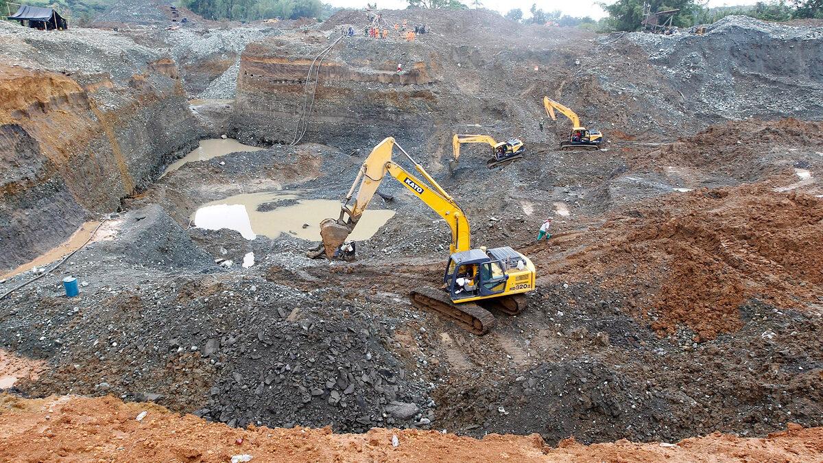Ορυχείο χρυσού στην Κολομβία
