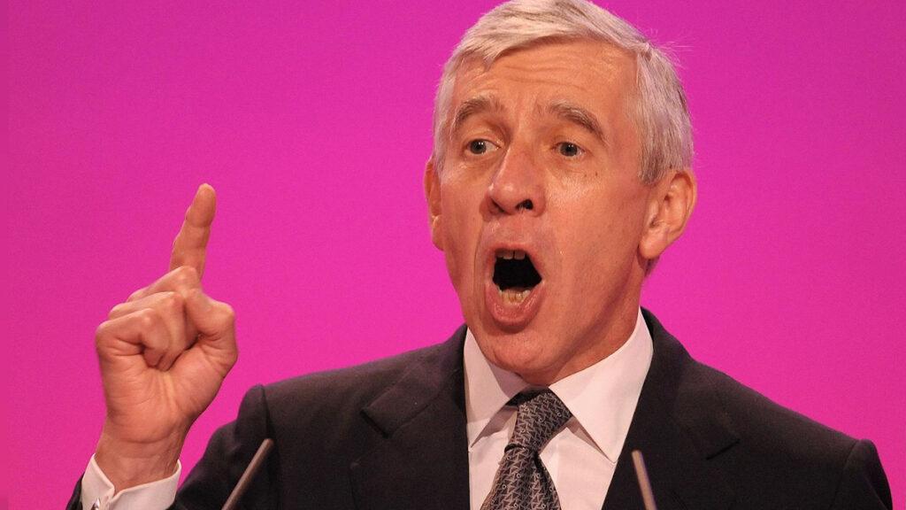 Τζακ Στρο, πρώην Βρετανός Υπουργός Εξωτερικών της Μεγάλης Βρετανίας