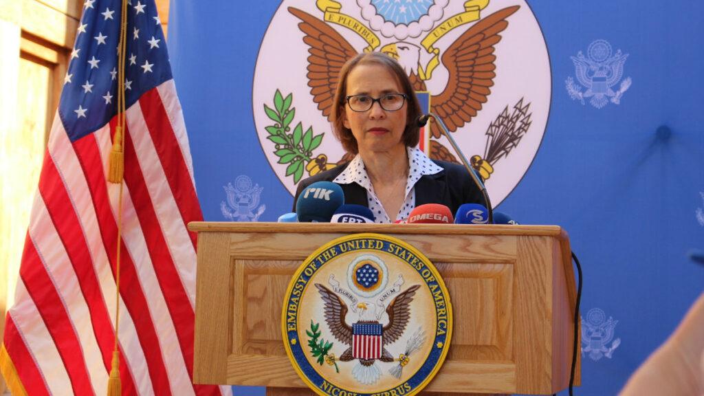 Τζούντιθ Γκάρμπερ, Πρέσβειρα των ΗΠΑ στην Κύπρο, Λευκωσία