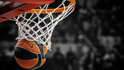 Μπάσκετ - καλάθι - μπάλα